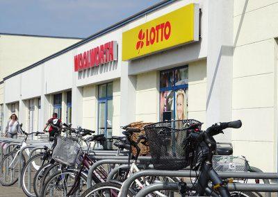Fahrradständer am City Center