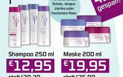 Shampoo und Maske mit 40 Prozent Rabatt bei Klier