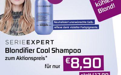 Aktionspreis für Blondifier Shampoo