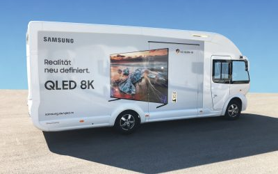 Samsung Technik Truck am City Center