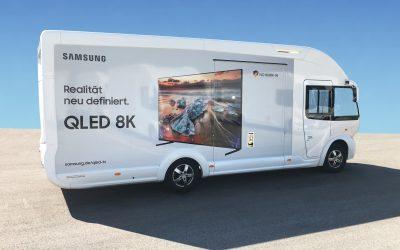 Samsung Technik Truck am City Center