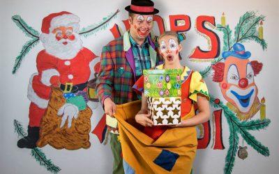 Clown Hops und Hopsi im Spielzeugzimmer des Weihnachtsmannes – 10.12.2019 16:00 Uhr