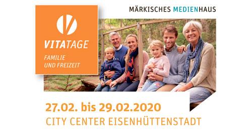 Messe für Familie und Freizeit – VitaTage 2020