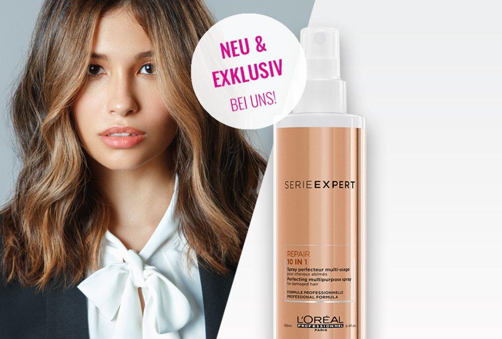 L'Oréal 10 in 1 Repair Spray – exklusiv & neu bei COSMO