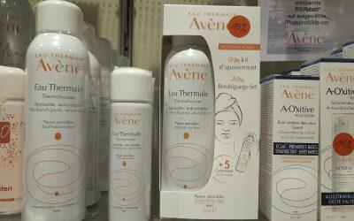15% auf Avène Produkte in der Apotheke im City Center