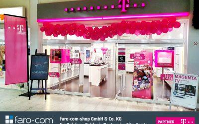 Telekom Exklusiv Partner Shop wegen Umbau geschlossen