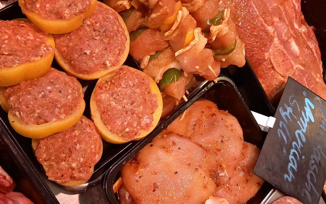 Grillspezialitäten bei Fleischer During